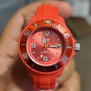 Ice-Watch Kids Red Silicone Strap Watch